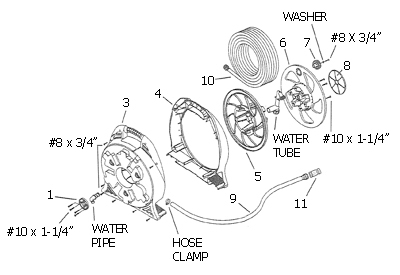garden hose reel parts. Not All Parts Listed On The Drawing Are Available As A Replacement Part For This Product. Note That Your Actual Number May Vary To Numbers Garden Hose Reel H