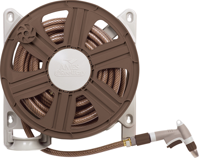 Ames ReelEasy 100' Side-Mount Hose Reel