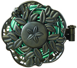 Ames ReelEasy® Decorative wall mount hose reel with swivel feature