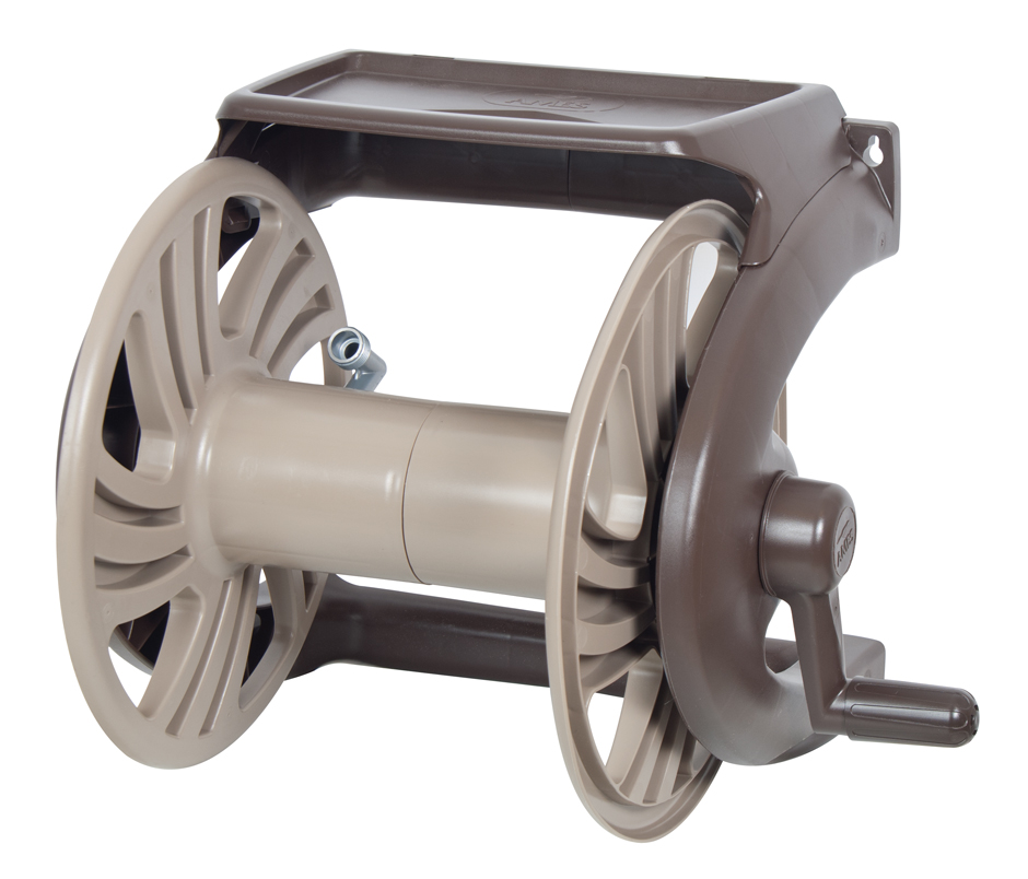 Ames NeverLeak® Poly Wall Mount Hose Reel with Tray