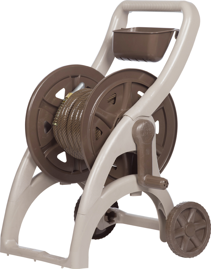 Ames NeverLeak™ 225' Poly Hose Cart
