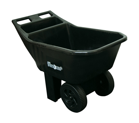 Ames Easy Roller Jr. 3 cubic foot poly yard cart