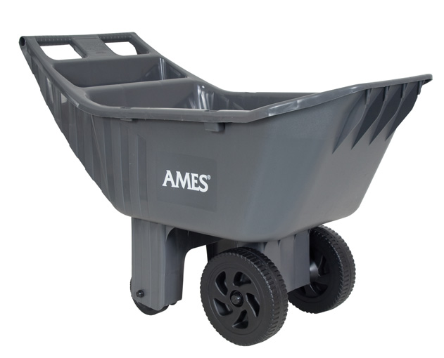 Ames Easy Roller Ames® 4 cubic foot poly yard cart