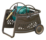 Ames ReelEasy® Decorative Metal Hose Cart