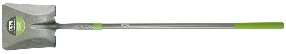 Ames  Long Fiberglass Handle Square Point Shovel