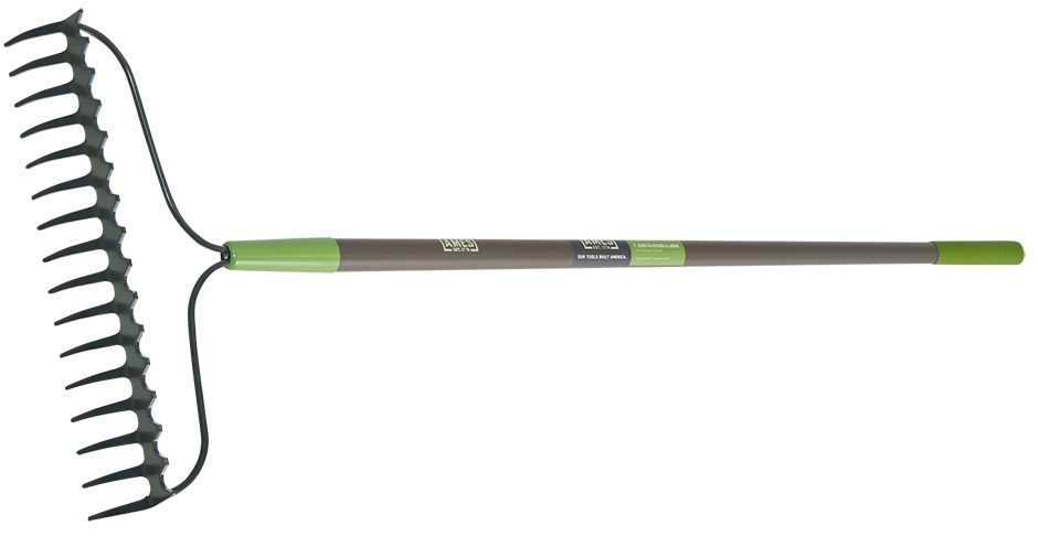 Ames  16-Tine Double Play Bow Rake w/Fiberglass Handle