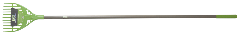 Ames Collector Series 8 in. Poly Shrub Rake