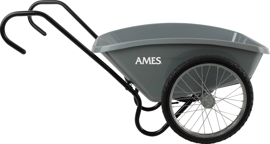 Superbe Ames Total Control 5 Cuft Garden Cart