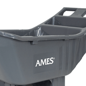 Easy Roller Ames 174 4 Cubic Foot Poly Yard Cart Ames