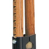 measuring stick handle