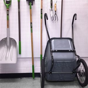 Tool Storage - Cart against Wall