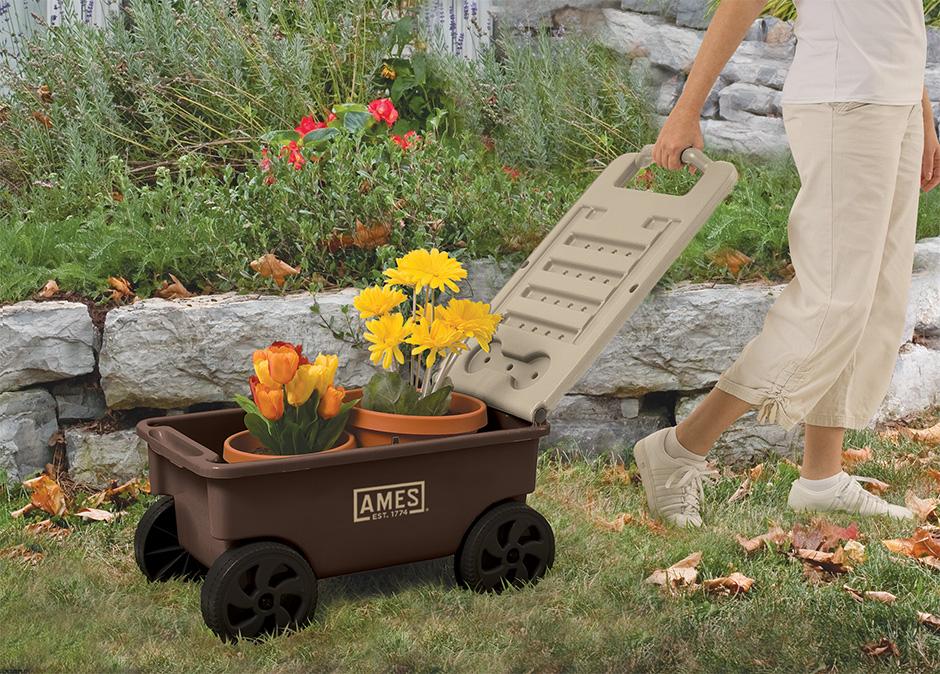 Lawn Buddy 2 cuft Lawn Cart Ames