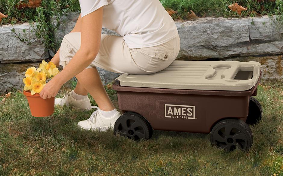 The Ames Companies Inc 1123047100 Ames Lawn Buddy Lawn Cart