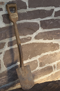 One of our oldest shovels