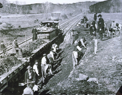 Construction of the Transcontinental Railroad