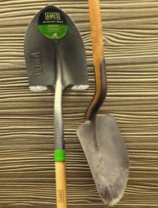 Old and Current Shovels
