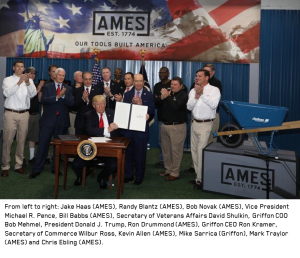 2017-04-29 - President Trump Visit to AMES Harrisburg Factory