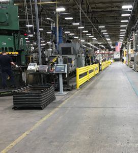 Camp Hill, Pennsylvania Manufacturing Facility: Shovel Forging Area