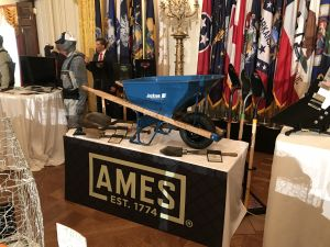 The AMES Companies display at the White House for the Made in America Product Showcase